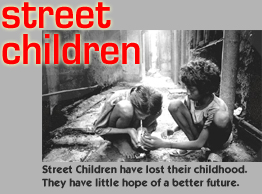 Street children , Jaipur, India